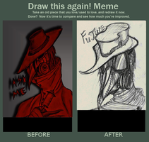Meme  Before And After (By Bampire) by Rone-Ombre
