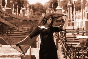 Eva-Rose at the Cemetery III by Eva-Rose
