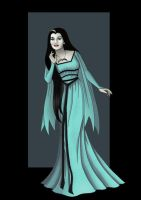 lily munster (munsters today)  -  commission by nightwing1975