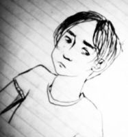 Cartoon of a Child-like Rufus by caitlin-t