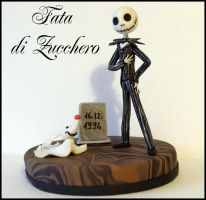 Jack Skeletron cake topper by Dyda81