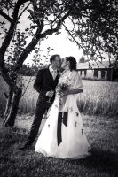 Bride and Groom by RLPhotographs