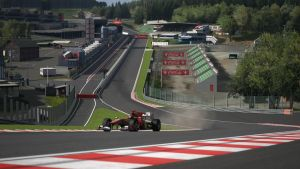 Circuit de Spa-Francorchamps- Eau Rouge by rjayco