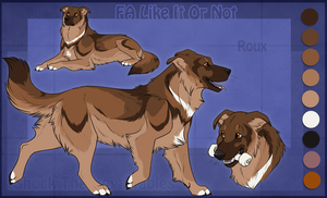 STS Dog - Roux by ShockTherapyStables