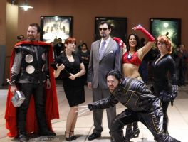 The Avengers, Plus by RoxannaMeta