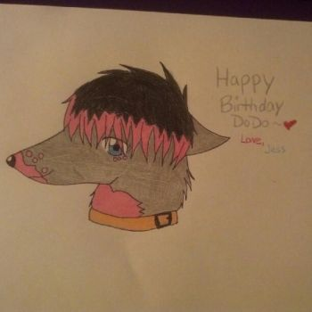 Birthday Picture for my Friend Dodo by Netsubo