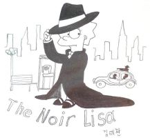 The Noir Lisa by komi114
