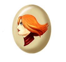 Lina Bust - Dota II - Without frame by Koshka-Stuff