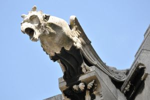 Sacre coeur gargoyle 1 by wildplaces