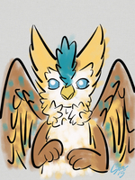 Day 64 - Gryphon by Gruberv