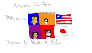 ART WARS episode 1: America VS. Japan by BARproductions