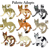 -Adopts- Palatte Adoptables - Designs uploaded by Allizia