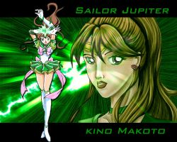 Sailor Jupiter by racookie3