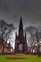 Scott Monument by gendosplace