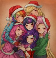 warm hugs by RacoonKun