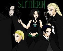 oh to be in slytherin by pilpina77