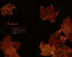 Wallpaper for October 2007 by Kumoashi