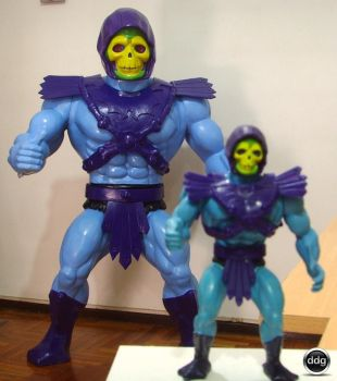 SKELETOR from He-man Giant toy by DDG by ddgcom
