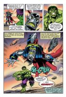 Hulk v Deaths Head NEW page 5 by Simon-Williams-Art
