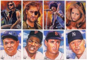 Assorted sketch cards 2 by choffman36