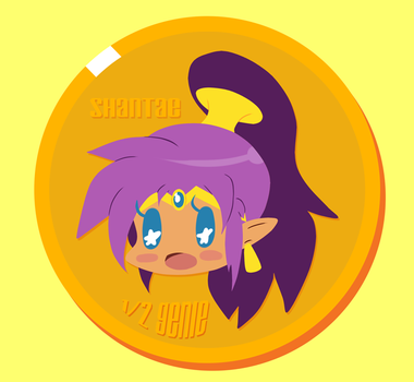 Shantae Coin by StaleMeat