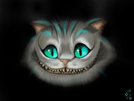 Cheshire the cat by SonnyKat