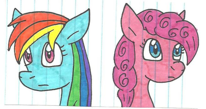 Pink and Rainbows by cmara
