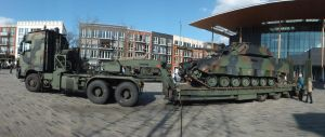 daf tropco with CV90 by damenster