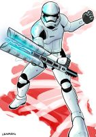 Riot Control Stormtrooper by edamex