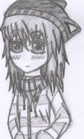 A sketch of me by FinnishGirl97