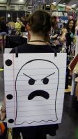 Ghost of Soda Drink Hat - SacAnime 2014 by SuperShadow781