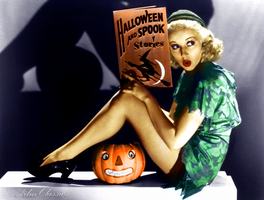 Betty Grable - Happy Halloween by Filmclassics