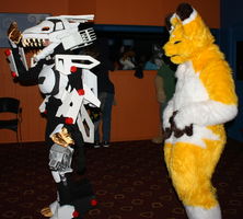 Keaton Stalks Liger by Dregrith