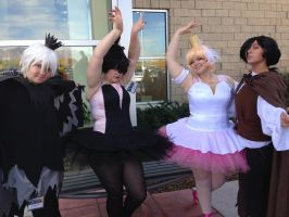 Anime Banzai 2014 Princess Tutu Group by Maw1227