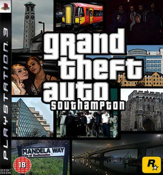 GRAND THEFT AUTO SOUTHAMPTON by BKNYT17