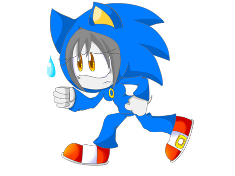 CE: I cant run as fast as him by fansonic