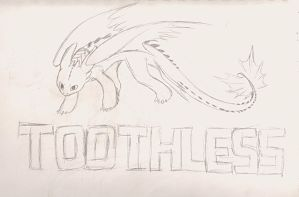 Toothless! by BLUEvsFIN