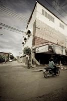 Chiang mai streets 001 by IbrahimZen