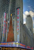 Radio City at Christmas by packgrad2k1