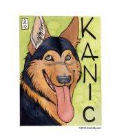Conbadge - Kanic by cheekitty