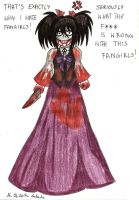 Jeff in a gothic-like dress by Lukusta