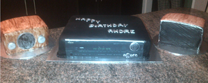 Amplifier Cake. by Lucrecia1511