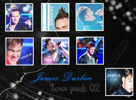 James Durbin Icon pack 02 by bluezircon-graphics