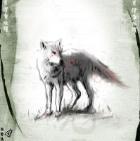 Okami Sketch 3 by GAVade