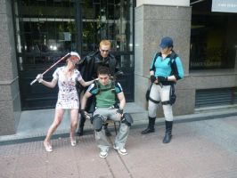 all against Chris xd by Chris--Redfield