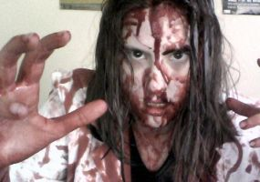 Halloween 2012: Researcher Zombie by Shadowic