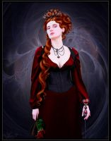 Queen of Hearts by fragmented---