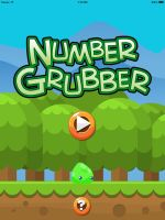 Number Grubbers Title Screen by istudio327