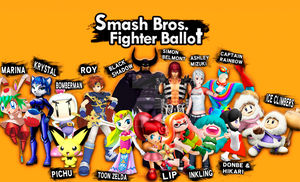 Smash Fighter Ballot: My Votes! by PichuThePokemon