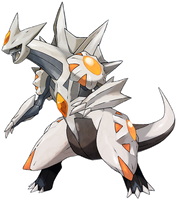 Dialga Palkia Fusion. [Pieces taken from Tomycase] by Shmexie-x-Deoxys